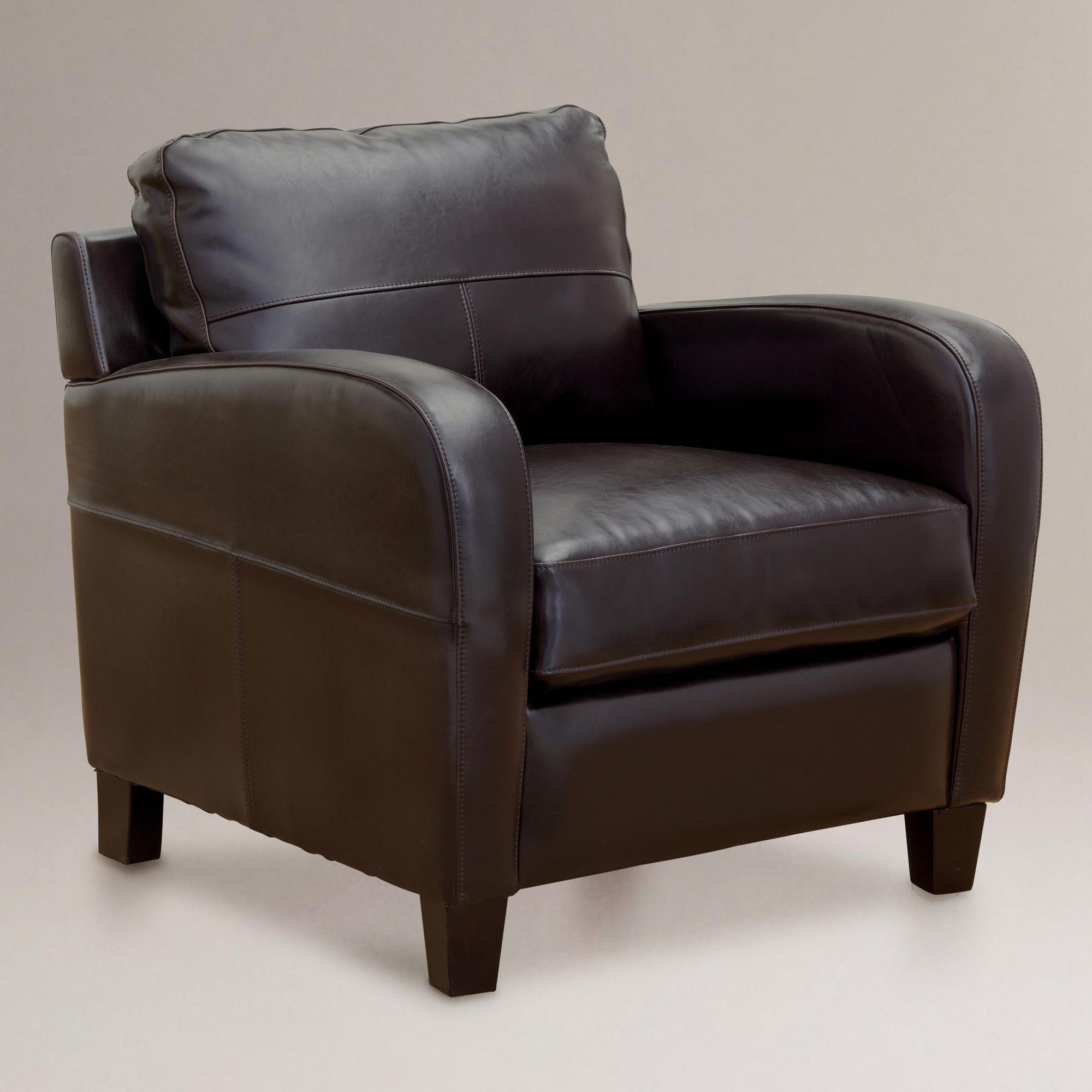 Espresso Mason Bi Cast Leather Chair Espresso Mason Bi Cast