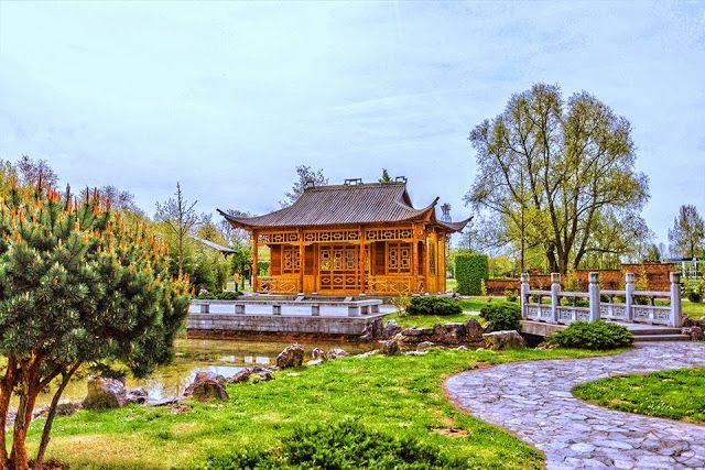 Mein Fotoblog Chinesischer Garten im IGA Park Rostock - chinesischer garten brucke