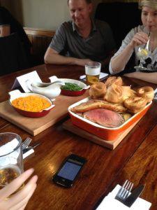 The Old Red Cow, Smithfield - Sunday Roast