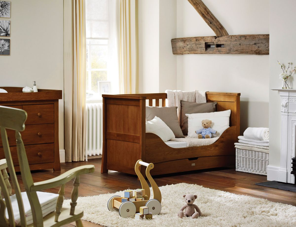 Cot Bed Dresser With Baby Changing