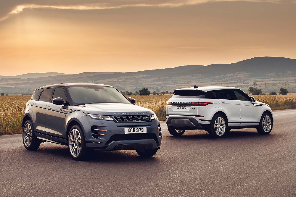 Beauty Plus Brawn The 2020 Range Rover Evoque Makes Its Way To