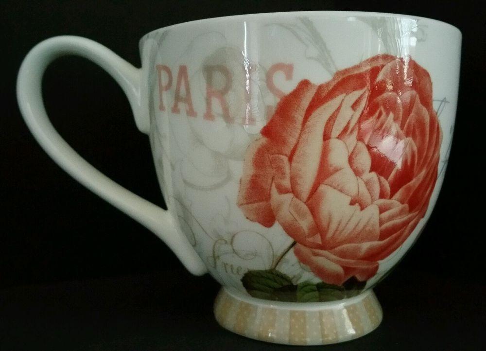 PORTOBELLO By English Design Fine Bone China Happy Halloween Coffee Mug Cup NWT