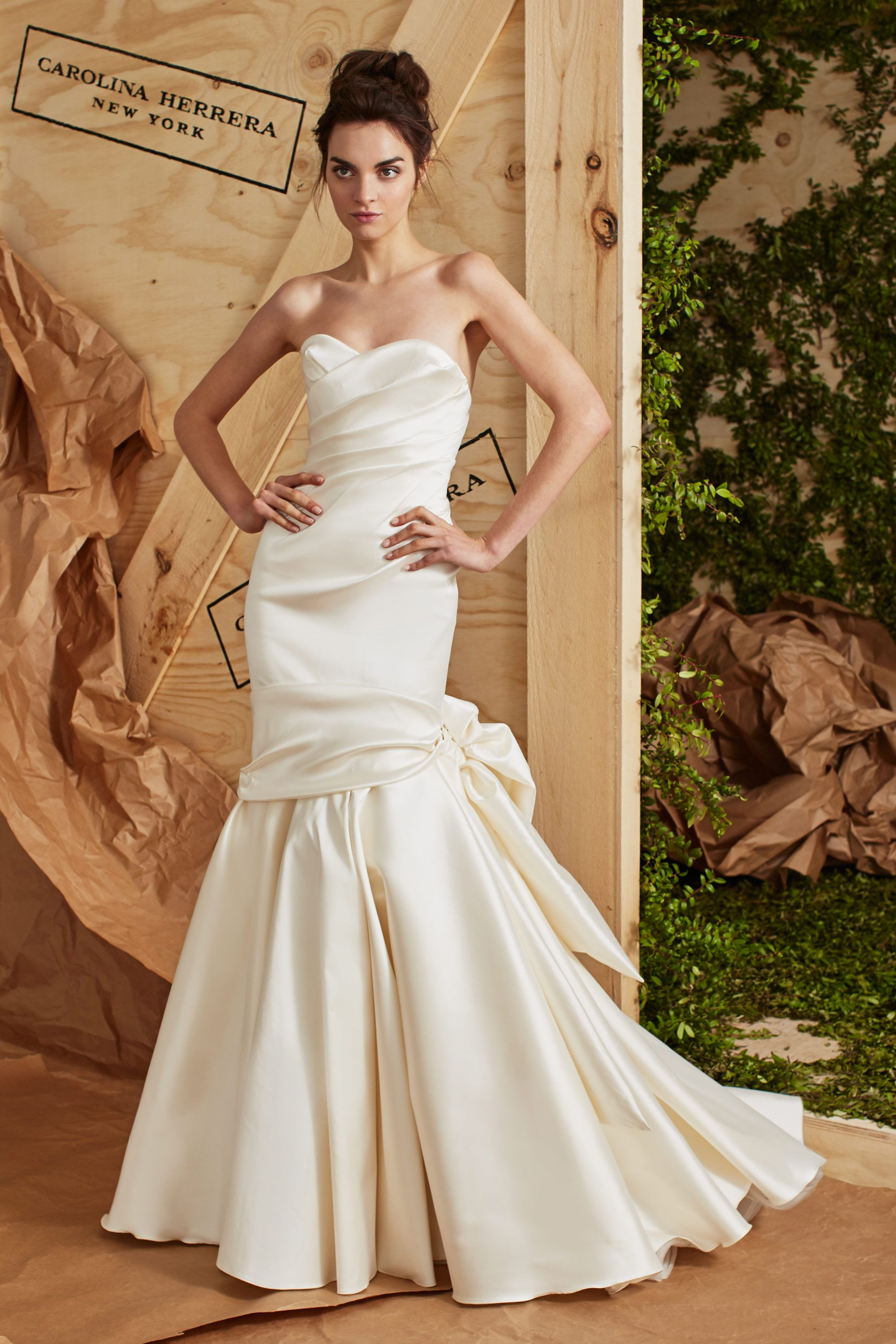 Carolina Herrera is availabe at the Nordstrom Wedding Suite ...