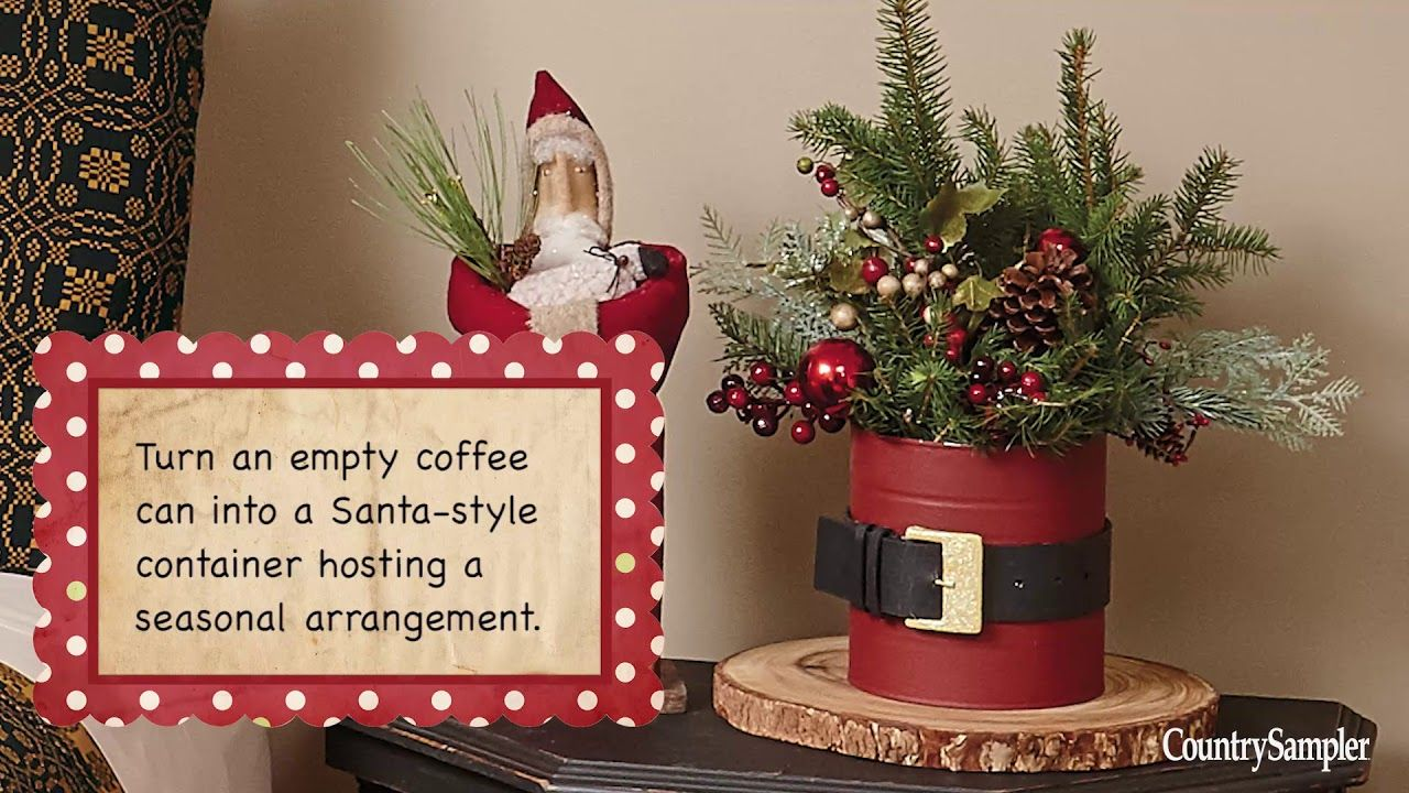 8 quick and festive christmas crafts a country sampler