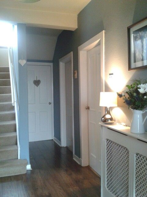 My Blue Hallway Home Dreams In 2019 Hallway Colours