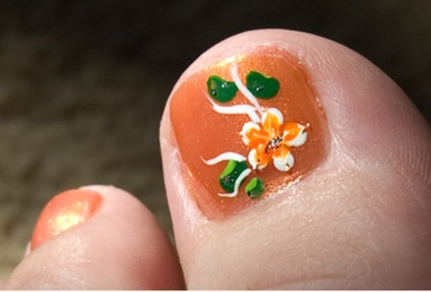Cute Toe Nails Painted 4k Pictures 4k Pictures Full Hq Wallpaper