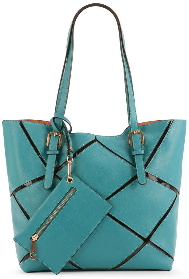 Maddi Geometrics oversized tote on shopstyle.com.au