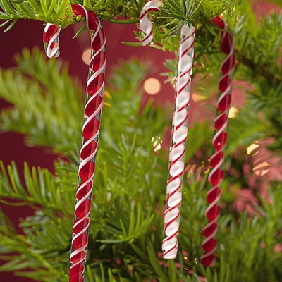 Glass Candy Canes, Set of 6 Glass Pinterest Glass candy, Candy