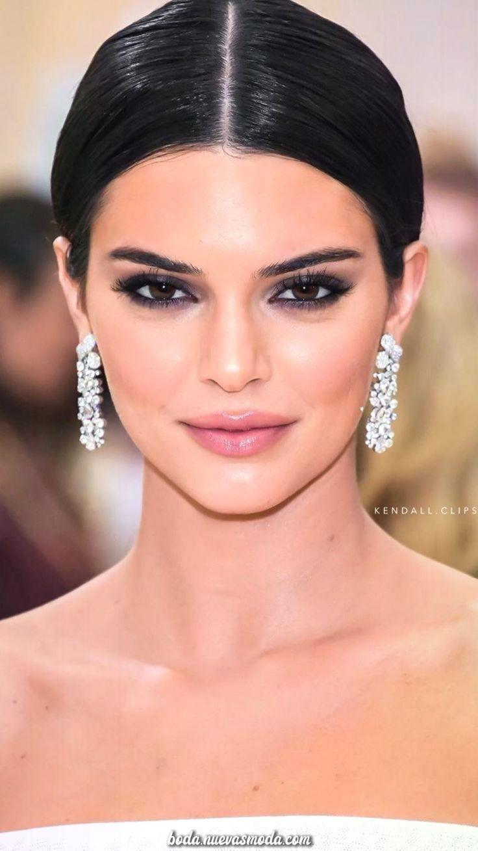 Elegante Increíble Maquillaje Para 20/ 20: Kendall Jenner – #Idea #Jenner #Kendall #Maquil…