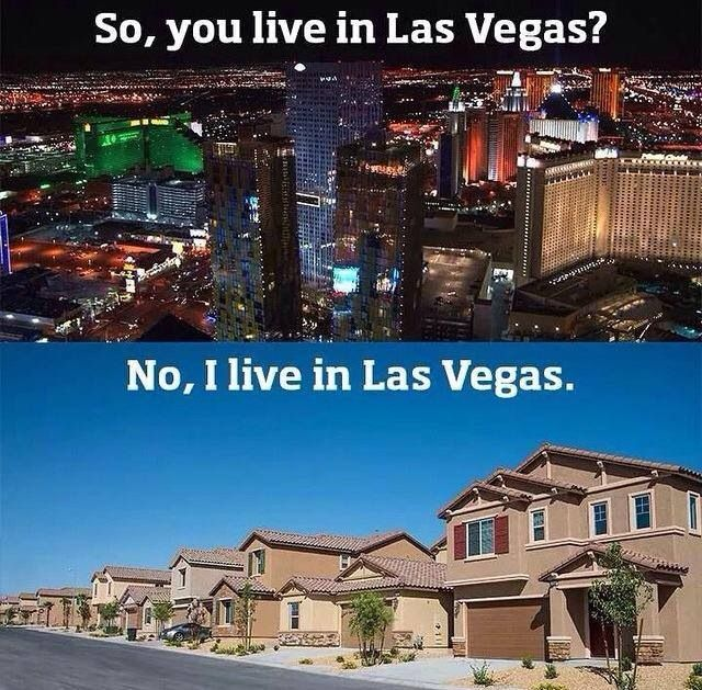 No I do not live on  the drain that takes all your money, I just work on it haha. #vegaslife