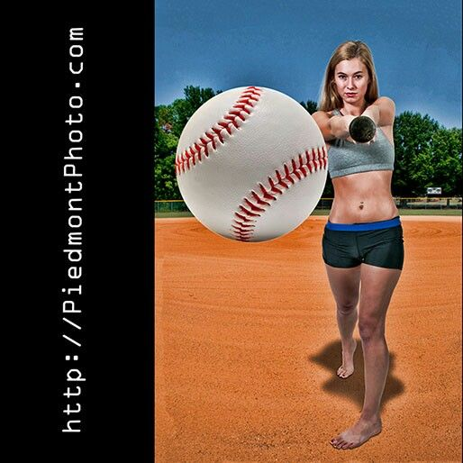 We knock portraits out of the park...   Piedmont Photo in Fuquay-Varina, NC  #portraits #fun #photography #photographer #fuquayvarina #fuquay #advertising #marketing #baseball