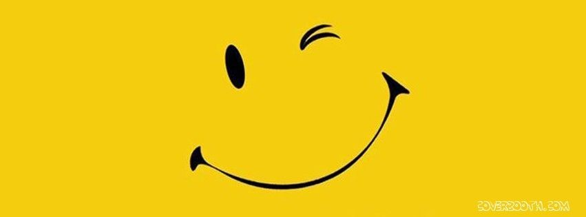 Cool Pictures For Facebook Timeline Cute Wink Smile Yellow