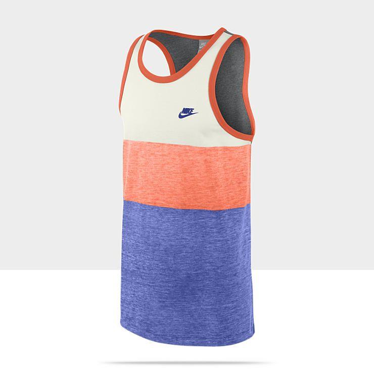 Trends Retro Activewear Sleeveless Stripe Nike Men's Shirt WqvZTWan