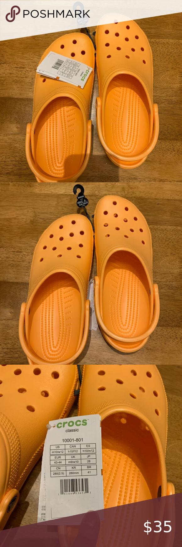 Crocs Women S12 Men S10 Cantaloupe New Brand New Crocs Cantaloupe Color Men Size 10 Women Size 12 Crocs Shoes Crocs Women S Crocs Size 10 Women Zapatos crocs online para mujer. crocs women s12 men s10 cantaloupe new