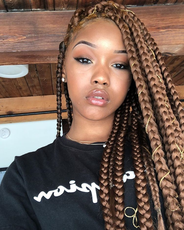 Like What You See Follow Me Pin Iijasminnii Give Me More Board Ideass Box Braids Styling Blonde Box Braids Box Braids Hairstyles