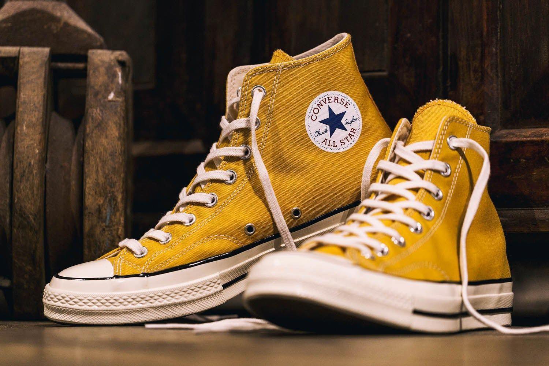 Yellow converse, Converse, Chuck taylors