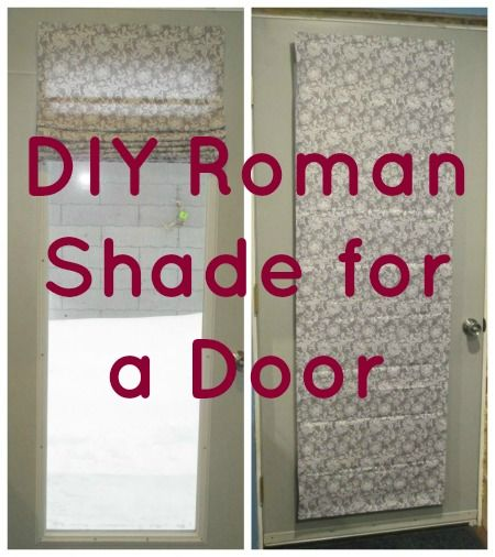 Easy Diy Roman Shade