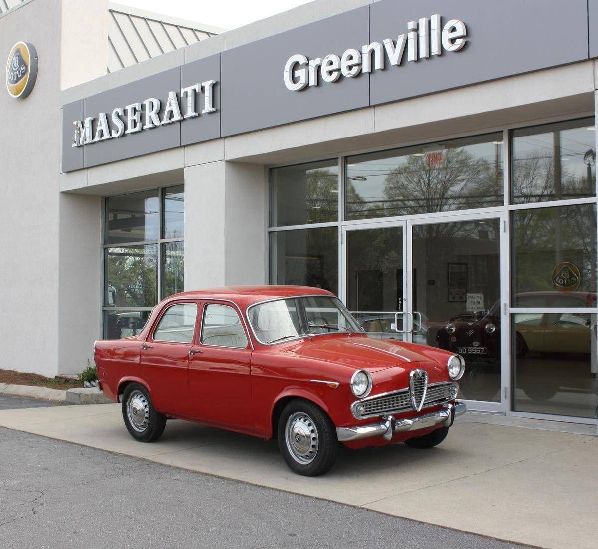 1961 Alfa Romeo Giulietta TI for sale 1819916 Alfa