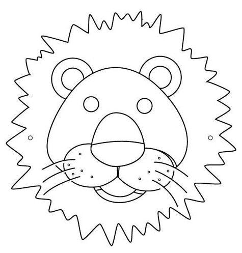 Caretas de animales gratis | TEATRO - Mascaras 1 | Animals ...