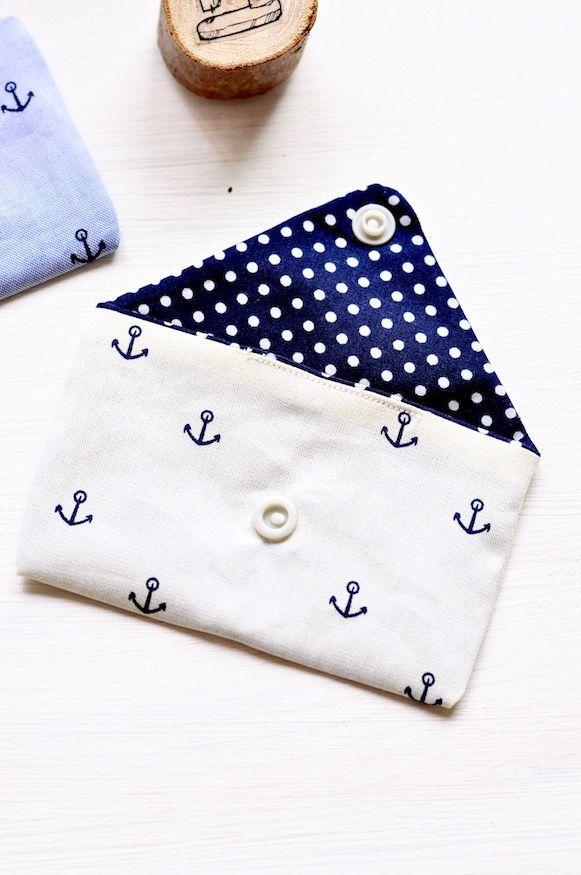 Kleine Tasche Nähen - Anleitung von #sewingprojects