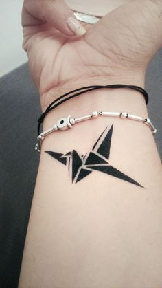paper crane tattoo meaning - photo #37
