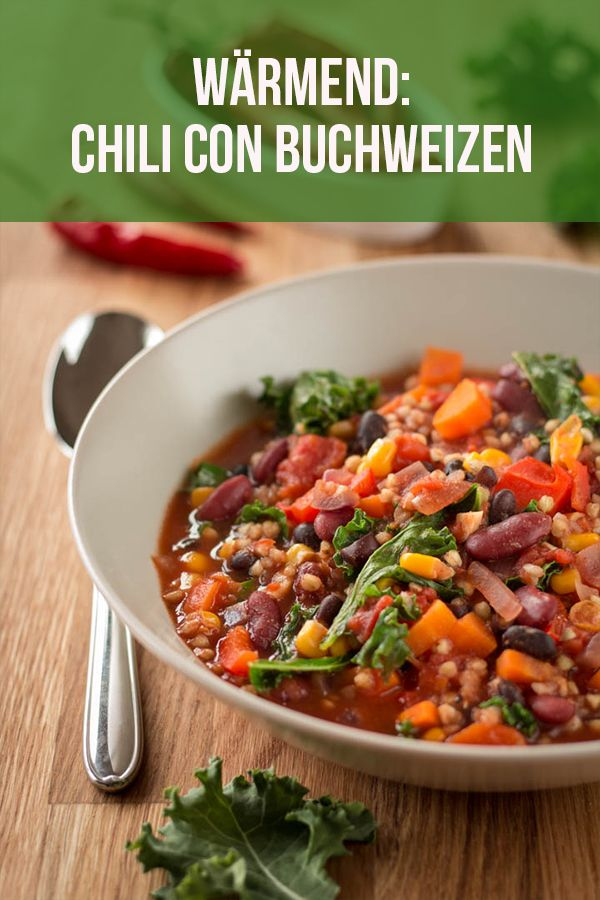 Photo of Vegan buckwheat chili