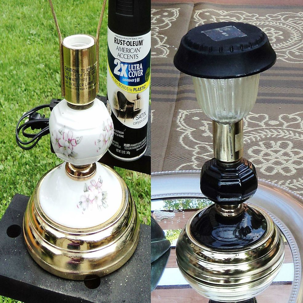 outdoor solar lamp upcycle cord solar and solar lights