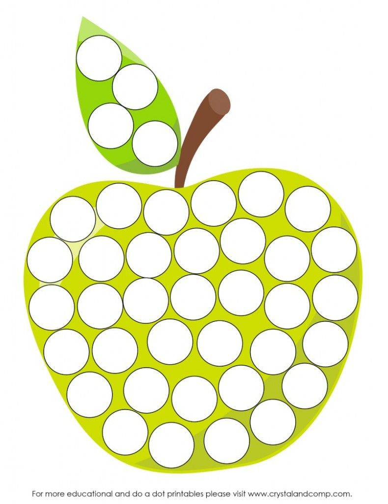 worksheet Do A Dot Worksheets a is for apple preschool worksheets do dot printables and dots green printables