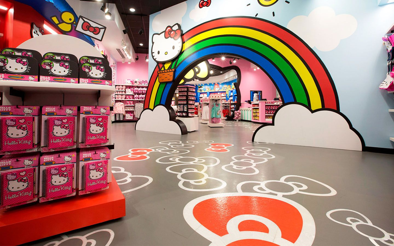 Hello Kitty shop Universal Orlando