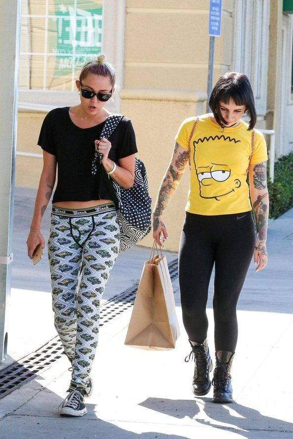 d18715cf0a8 The ultimate back-to-school backpack style inspiration from your favorite  models and celebs—Miley Cyrus