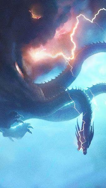 King Ghidorah Godzilla King Of The Monsters 4k 3840x2160 Wallpaper Godzilla Monster Mothra Movie