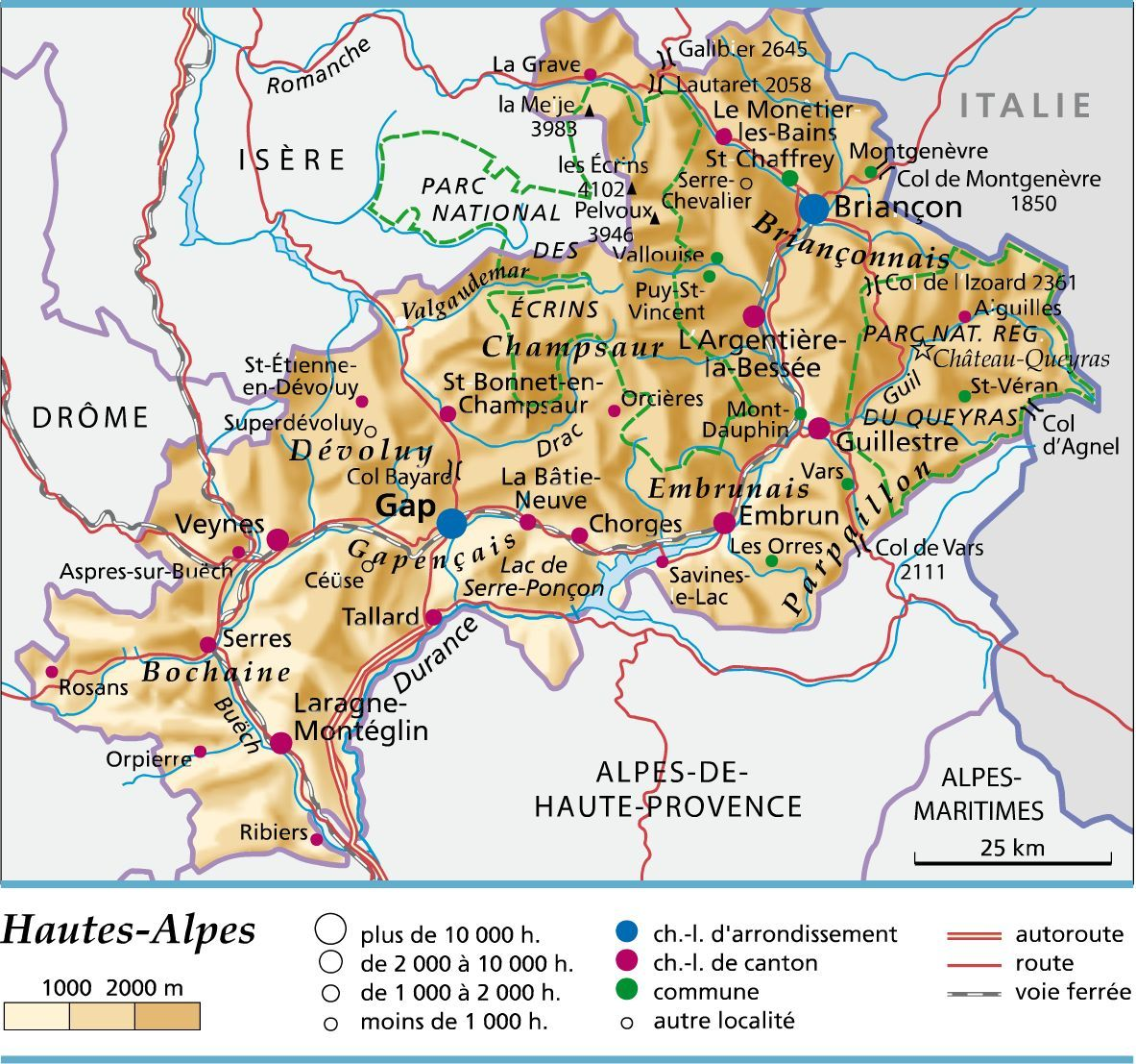 Carte Des Hautes Alpes Haute Alpes Carte Carte De France Region