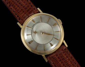 1962 longines vintage mens mystery dial watch 10k gold filled 1962 longines vintage mens mystery dial watch 10k gold filled