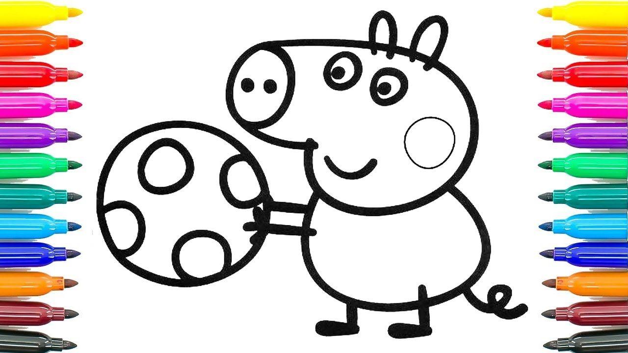 Peppa Wutz Ausmalbilder Geburtstag : Beste Peppa Pig Malvorlagen George Fotos Malvorlagen Von Tieren
