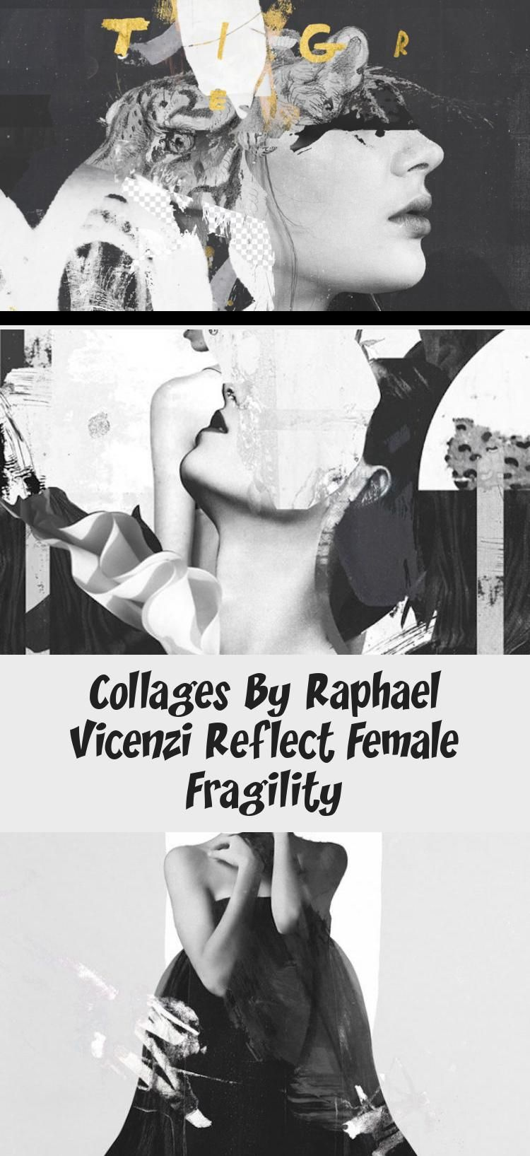 Photo of Exposing feminine vulnerability, Brussels-based artist Raphael Vicenzi creates a…