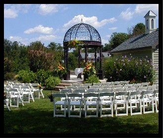 Cameron Estate Inn Carriage House Gazebo Wedding Venue
