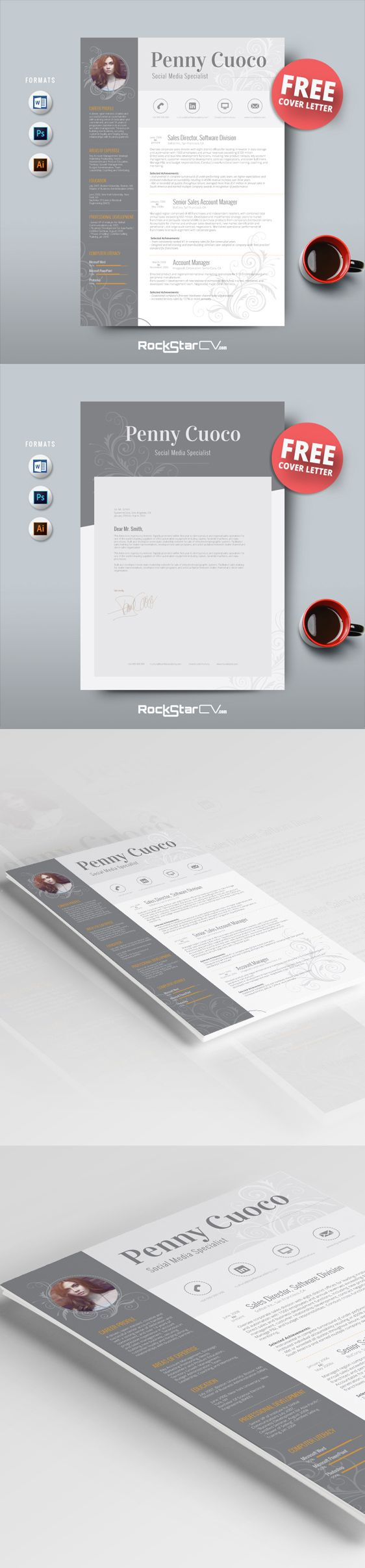 Resume Template And Free Cover Letter Teacher Resume Word Resume