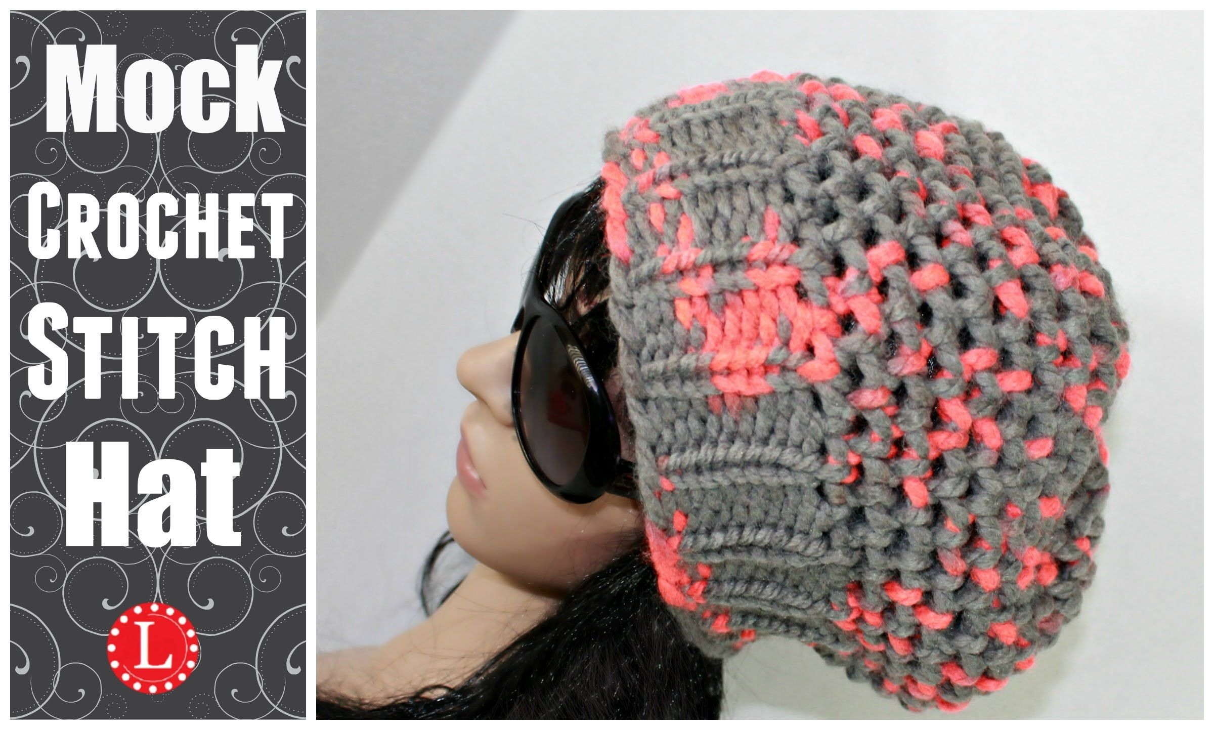 LOOM KNIT HATS - The Mock Crochet Hat Made on a 41-peg Extra Large ...