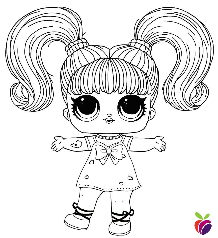 Lol Surprise Hairgoals Series Coloring Page Yang Q T Free Coloring Pages Cute Coloring Pages Coloring Pages