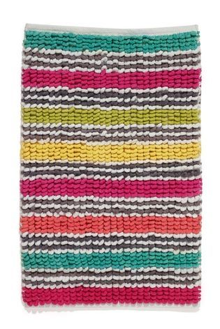NexNext stripey bath mat