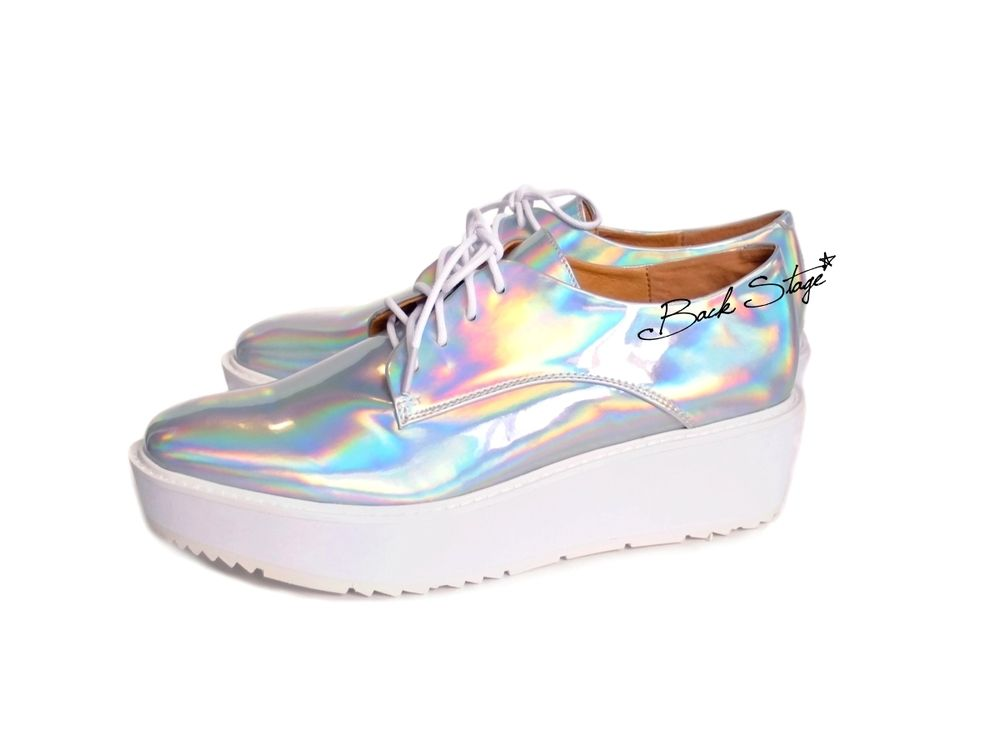 Limited Edition - Hologram Holographic Metallic Mirrors Platform ...