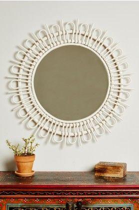 Spring Home What S New Rattan Mirror Round White Mirror Boho Mirrors
