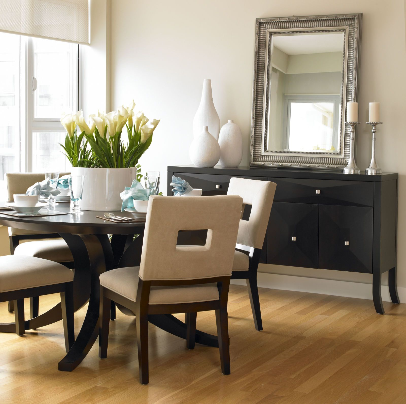 The Very Good Reason Your Dining Room Could Use A Mirror  Room Amusing Mirror In The Dining Room Inspiration Design