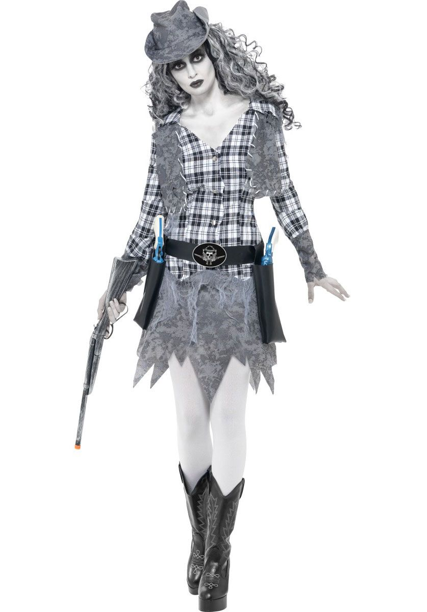 Ghost Town Cowgirl Costume - Halloween Costumes at Escapade™ UK ...