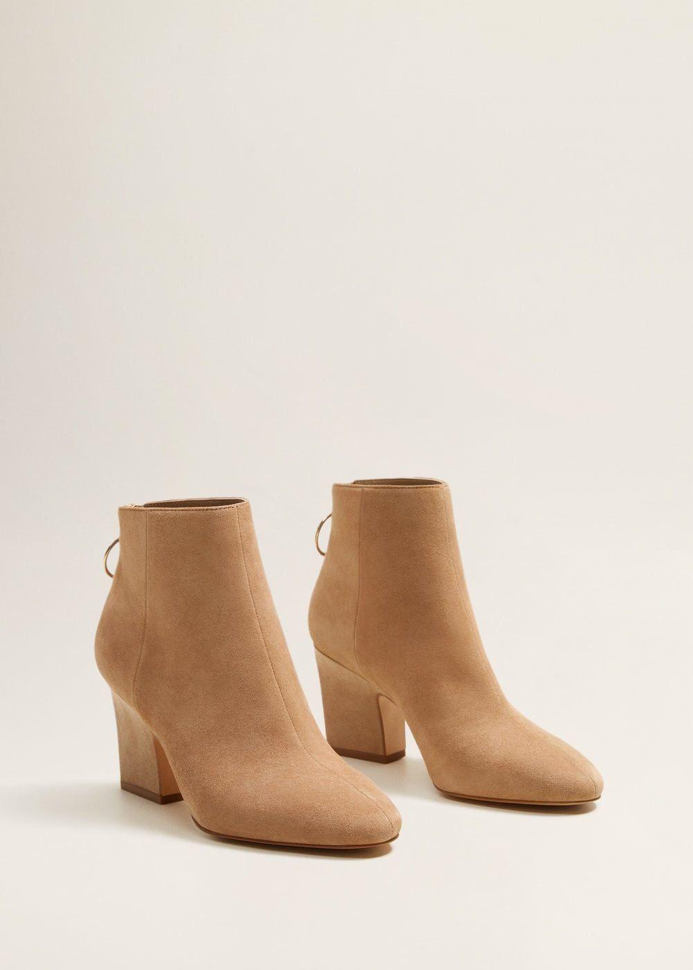 Kozhanye Botinki S Molniej Zhenskaya Mango Mango Rossiya Rossijskaya Federaciya Boots Womens Boots Ankle High Boots Outfit