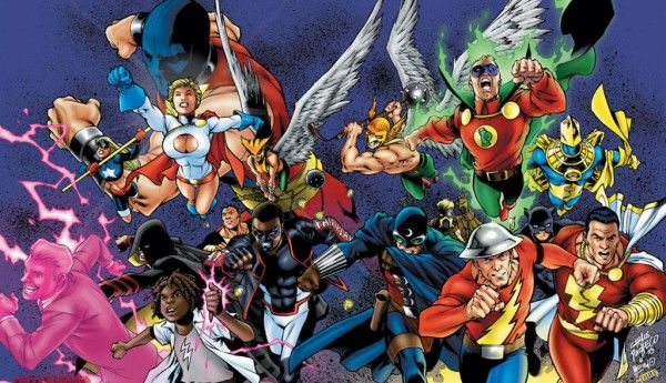 Dc Comics Rebirth A New Justice Society Of America Ongoing Title