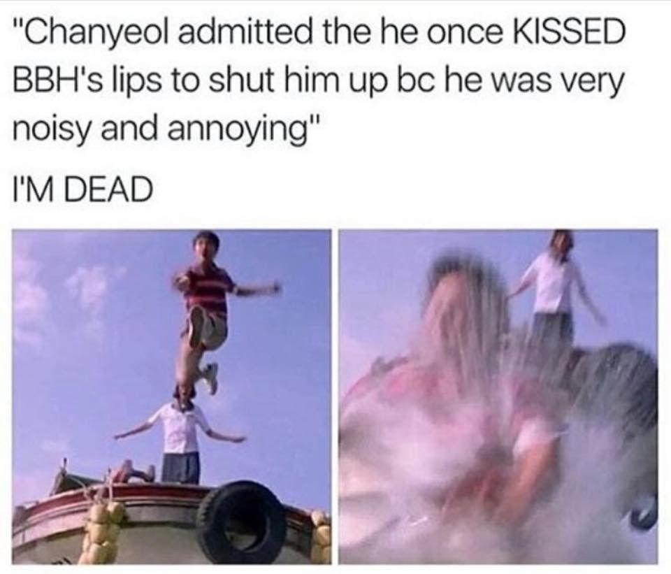 Can you hear me screaming? My ChanBaek feels...