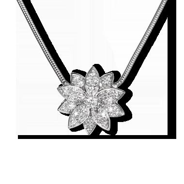 Lotus pendant large model van cleef arpels jewelry lotus pendant large model van cleef arpels audiocablefo