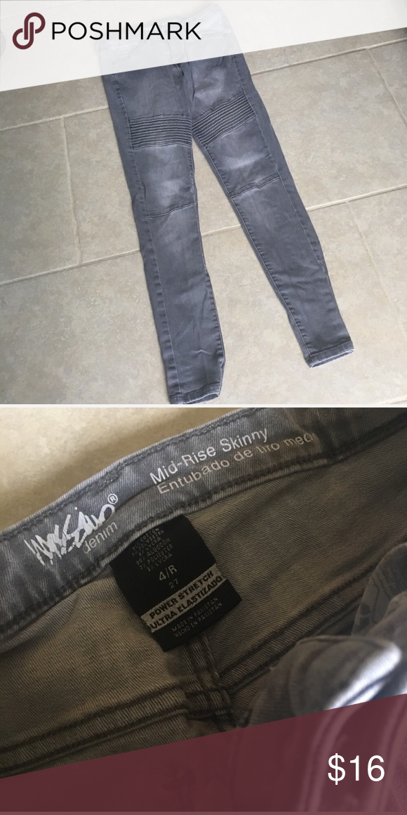 200970d1ae792 Size 4R 27 Gray Mossimo Mid Rise Skinny Jeans Size 4R 27 Gray Mossimo Mid Rise  Skinny Jeans 4 Regular- Stretchy Mossimo Supply Co. Jeans Skinny