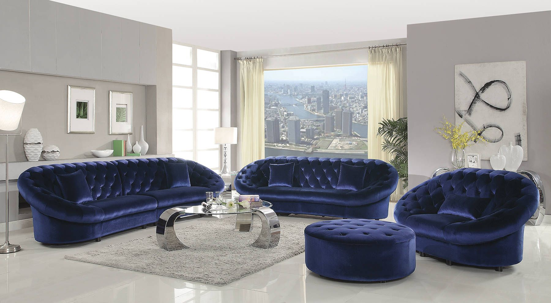 Pin On The Classy Home Furniture Mall #royal #blue #living #room #furniture